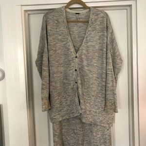 Free People High/Low Cardigan Size S